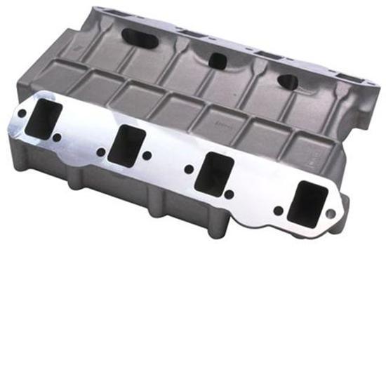 Cast Aluminum Blowers : Weiand hemi blower intake manifold plain