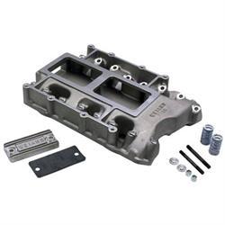 Weiand 331-392 Hemi Blower Intake Manifold 6-71, Plain Cast Aluminum