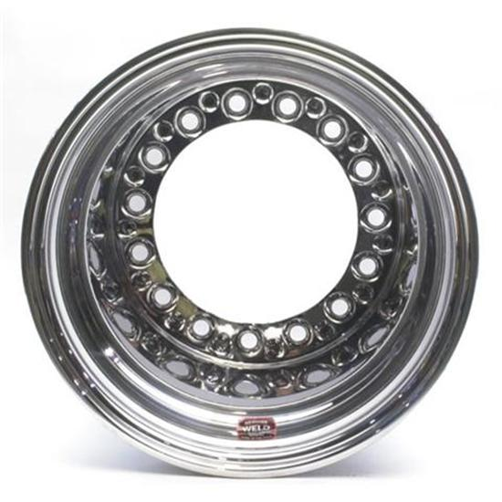 Weld Racing Wide 5 XL 15 x 12 Wheel, Non Beadlock, 4 Inch Backspace