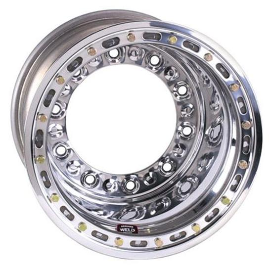 Weld Racing Wide 5 HS Wheel-XL with Bead-loc, 15 x 12 In, 4 In BS