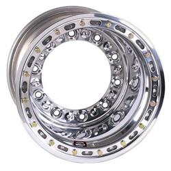 Weld Racing Wide 5 HS Wheel-XL with Bead-loc, 15 x 14 In, 5 In BS