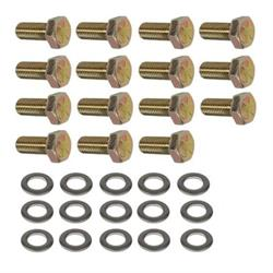 Precision 16 x Chrome Tuner Bolts for ṾW ṾOLKSWAGEN Caddy with Aftermarket Alloy Wheels PN.SFP-16BM17TK+Key283