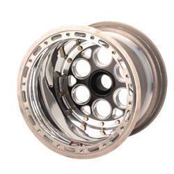 Weld 734B-31051 13x10 Inch Wheel, 31 Spline, 1 In Backspace w/Beadlock