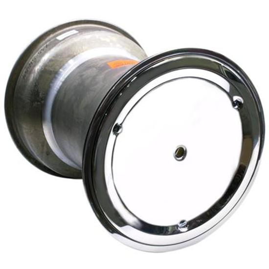 Garage Sale - Weld Splined 15 x 17 Inch Right Rear Wheel, 4 Inch Offset, Beadlock/Cover