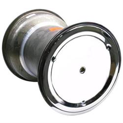 Garage Sale - Weld Splined 15 x 18 In Right Rear Wheel, 6 In Offset, Beadlock/Cover