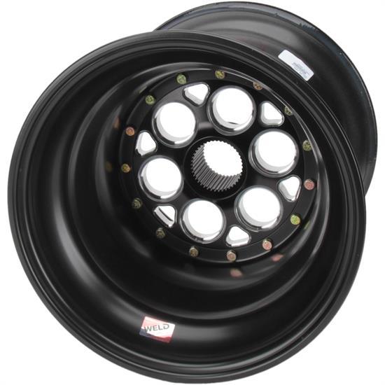 Weld Racing 735B-517B56-6 17 Inch Wheel, 6 Inch Offset, Black