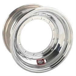 "Weld Racing Direct Mount 10x8 Front Wheel-NonBeadlock, 4"" Offset"