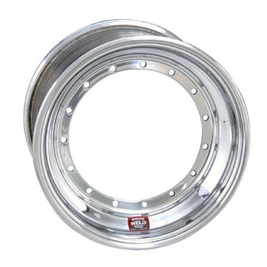 Weld Racing 13 x 7 Direct Mount Front Wheel, Non Beadlock, 4 In Offset