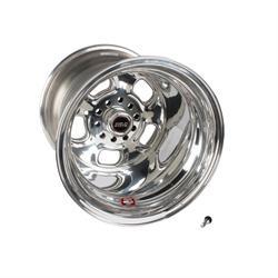 Weld Racing 93-515348 Rodlite Wheel, 15 X 15, 4-1/2 Inch Backspace