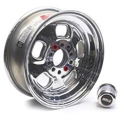 Weld Racing 93-56346 Rodlite Wheel, 15 X 6, 3-1/2 Inch Backspace