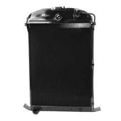 Walker B-Z-Ac494-1 Z-Series 1936 Ford Radiator & Condenser-Ford Engine