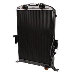 Walker Z-Ac488-1 Z-Series 35 Ford Radiator & AC Condenser-Chevy Engine