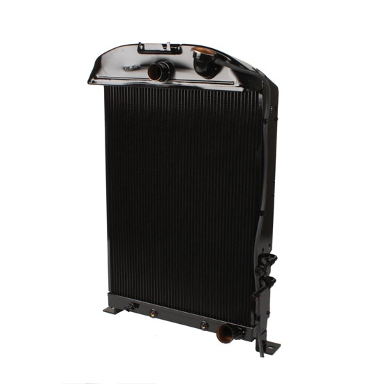 Walker Z-Ac498-1 Z-Series 33-34 Ford Radiator & Condenser-Chevy Engine