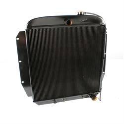 Walker Z-Series 1955-1959 Chevy Pick-Up Radiator w/ A/C Condenser