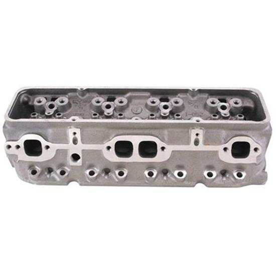 World S/R Small Block Chevy Cylinder Heads, Straight Plug, 1 94/1 50
