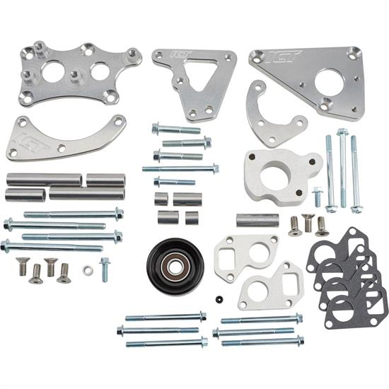 ICT Billet 551565-3 Alternator/PS Pump Bracket Kit, LS Turbo