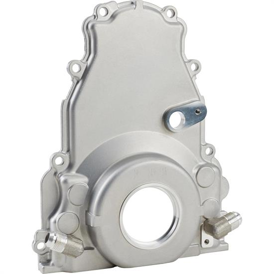 ICT Billet 551595 Engine Timing Chain Cover, LS Twin Turbo