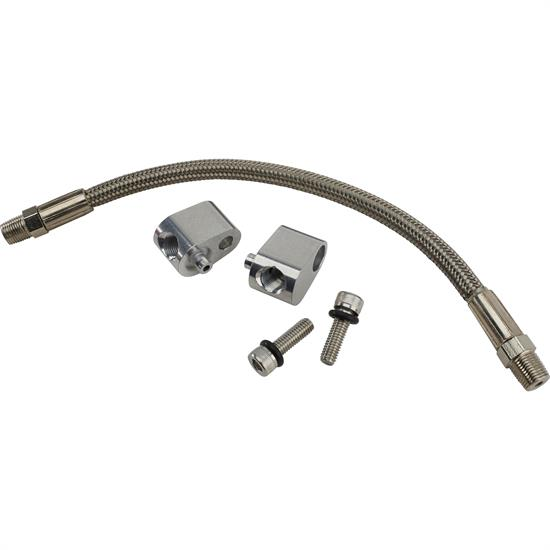 ICT Billet 551694H Coolant Crossover Bypass Hose Kit, LS1