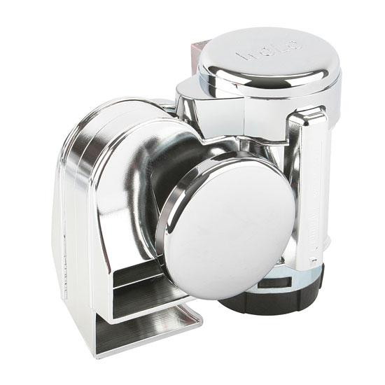 Wolo 519 Bad Boy Compact Air Horn, Chrome
