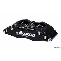 Wilwood 120-10134 DP6 Lug Mount RH Caliper, 5.25 Inch Mount