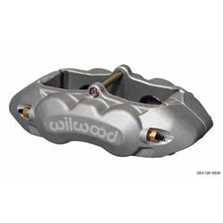 Wilwood 120-10526-RD D8-4 Rear Caliper, 1.38 Pistons/1.25 Disc, Red