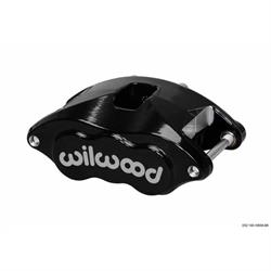 Wilwood 120-10937-BK D52 Dual Piston Floater Brake Caliper, Black