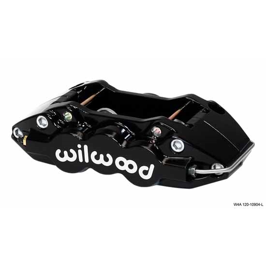 Wilwood 120-11666-FS W4A Radial Front Mount LH Caliper, Black