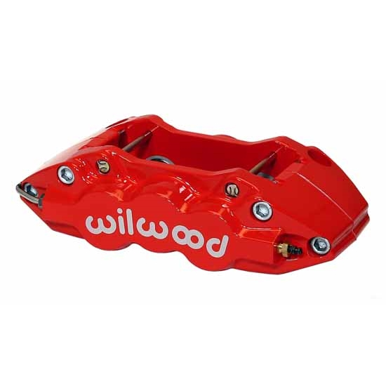 Wilwood 120-11671-RSR W4A-ST Radial Mount RH Caliper, Red