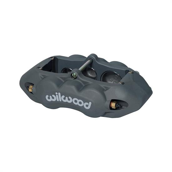 Wilwood 120-11711 D8-6 RH Front Caliper, Clear
