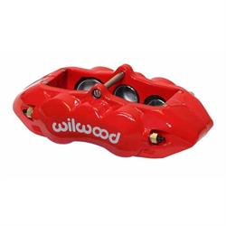 Wilwood 120-11712-RD D8-6 Front LH Caliper, Red