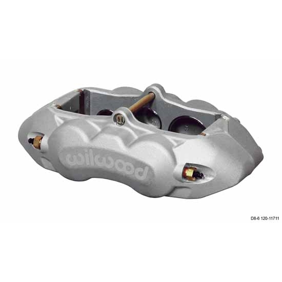 Wilwood 120-11712 D8-6 LH Front Caliper, Clear