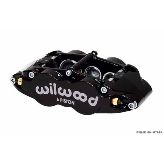 Wilwood 120-11781-BK Forged Narrow Superlite 6 Radial Mount LH Caliper