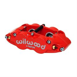 Wilwood 120-11783-RD Forged Superlite 4 Radial Mount Caliper, Red