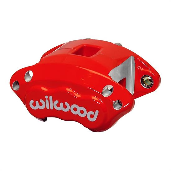 Wilwood 120-11870-RD D154 Single Piston Floater Caliper, GM, Red