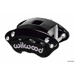 Wilwood 120-11873-BK D154 Dual Piston Floater Caliper, Black