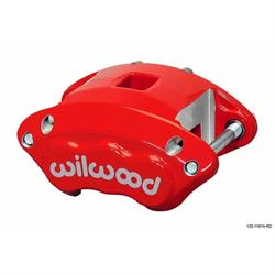 Wilwood 120-11873-RD D154 Dual Piston Floater Caliper, GM, Red