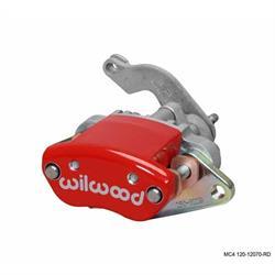 Wilwood 120-12070-RD MC4 LH Mechanical Caliper, 1.19 Piston/.81 Disc