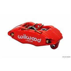 Wilwood 120-12949-RD Forged DPHA Caliper, Honda/Acura, 1.62/.83 Inch