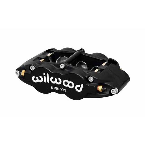 Wilwood 120-13238 Forged Superlite 6 Radial Mount LH Caliper, .81 Disc