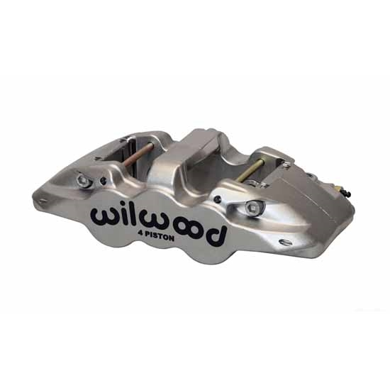 Wilwood 120-13298-N AERO4-ST-LH Caliper, Nickel, .80 Inch Thick Pad