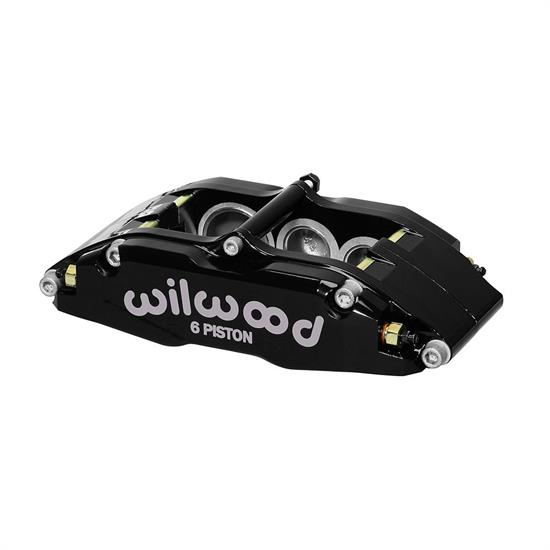 Wilwood 120-13383-BK Billet Narrow Superlite 6 Lug Mount LH Caliper