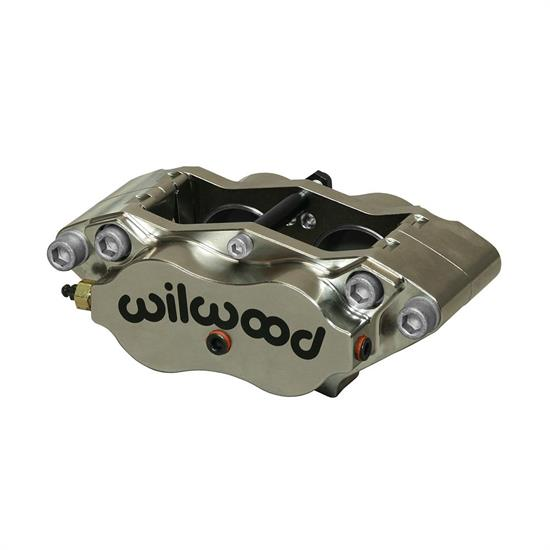 Wilwood 120-13405-N BN Dynalite Radial Mount Caliper, Nickel, .38 Disc