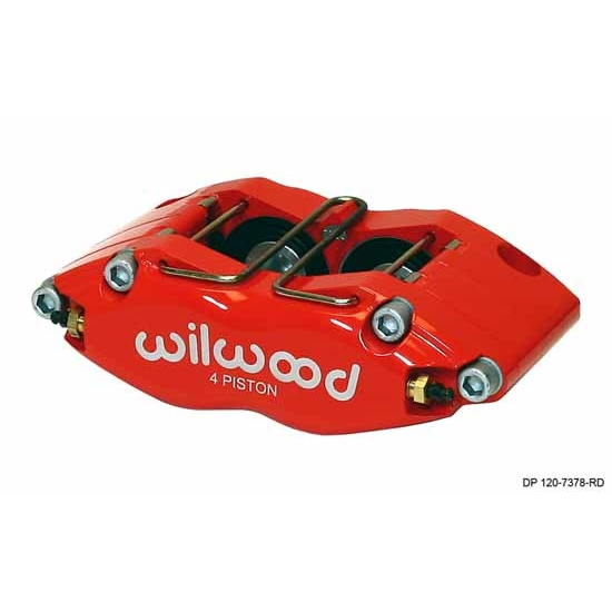 Wilwood 120-7327-RD Dynapro Radial Mount Caliper, 1.50 / .81 Inch