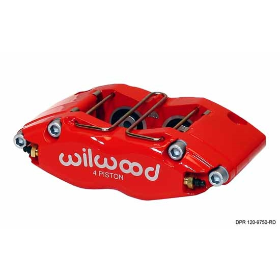 Wilwood 120-9750-RD Dynapro-13 Radial Mount Caliper, Red
