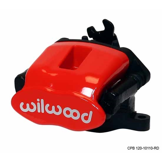 Wilwood 120-9809-RD Combo Parking Brake LH Caliper, 34mm / .84 Inch