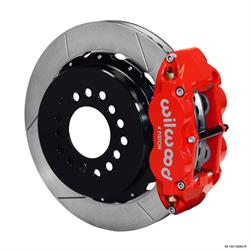 Wilwood 140-10093-R FNSL 4R Rear Brake Kit, 63-87 GM, 2.42 Off 5-lug