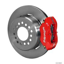 Wilwood 140-10094-R FDLI Rear Brake Kit, 1963-87 GM, 2.42 Offset 5-lug