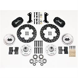 Wilwood 140-1017-BD FDL Front Brake Drag Kit, 1964-74 GM, Drilled