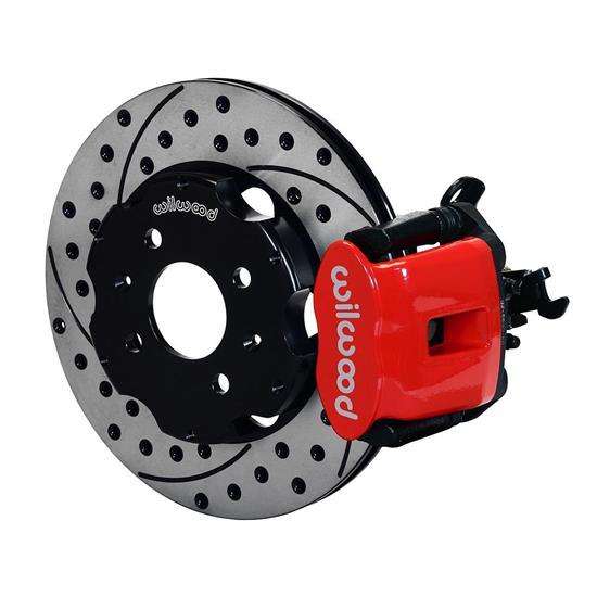 Front Red Wilwood 140-12996-R Brake Kit