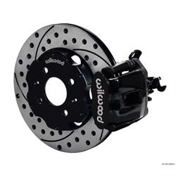 Wilwood 140-10206-D CPB Rear Disc Brake Kit, 90-01 Civic/Integra, 2.39